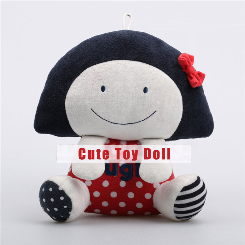 Cute Little Girl Plush Toys Soft Stuffed Dolls For Kids Gifts