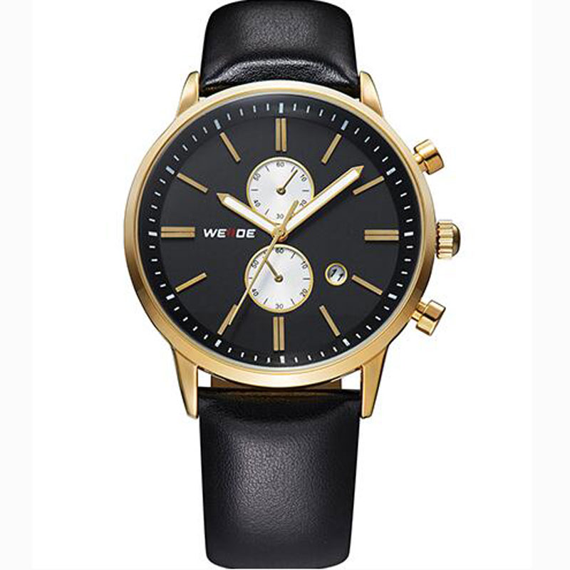 Yellow Gold Black Dial