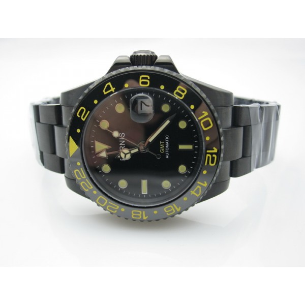 PVD Black Dial(Gold Hand) ( +$20.00 )