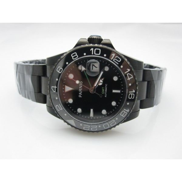 PVD Black Dial(Green Hand) ( +$20.00 )
