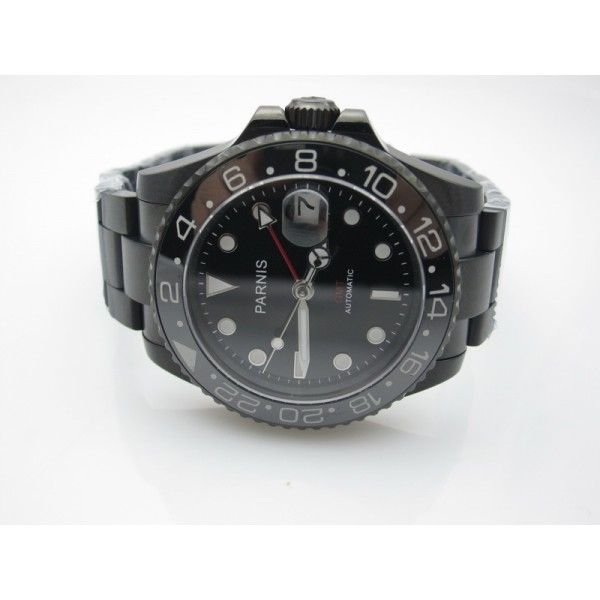 PVD Black Dial(Red Hand) ( +$20.00 )