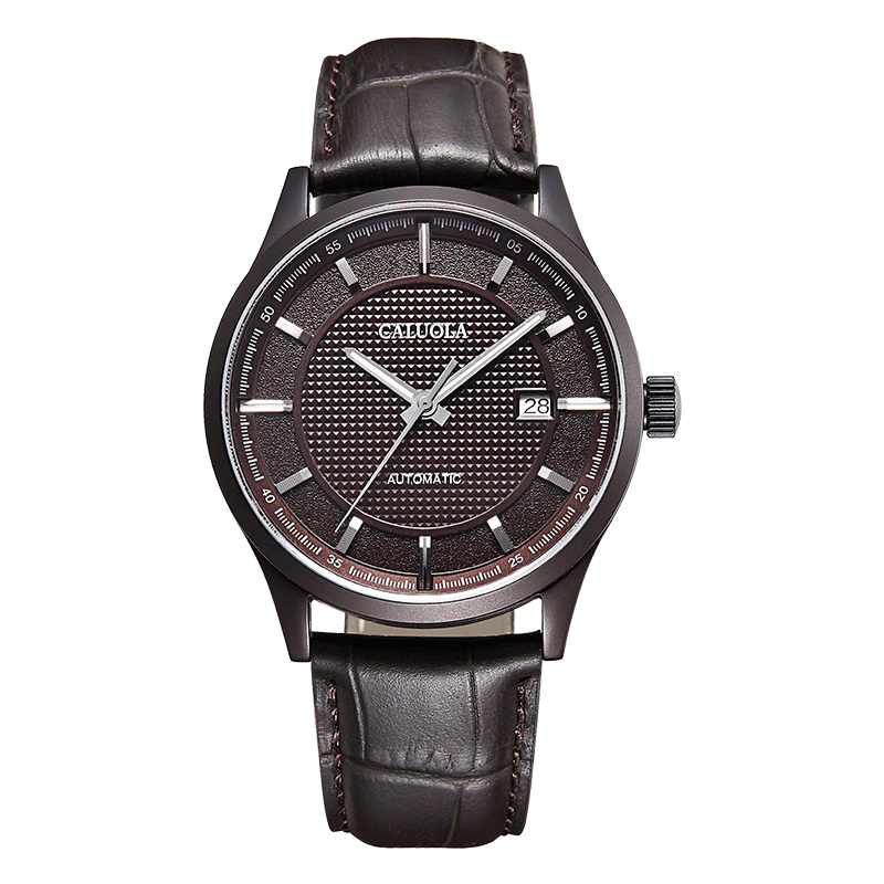 Coffee PVD Coffee Dial Leather ( +$5.00 )