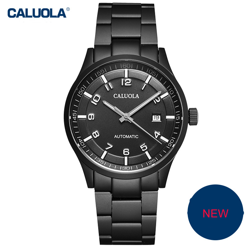 Caluola Fashion Watch Automatic Date Men Watch Business Watch CA1069MM
