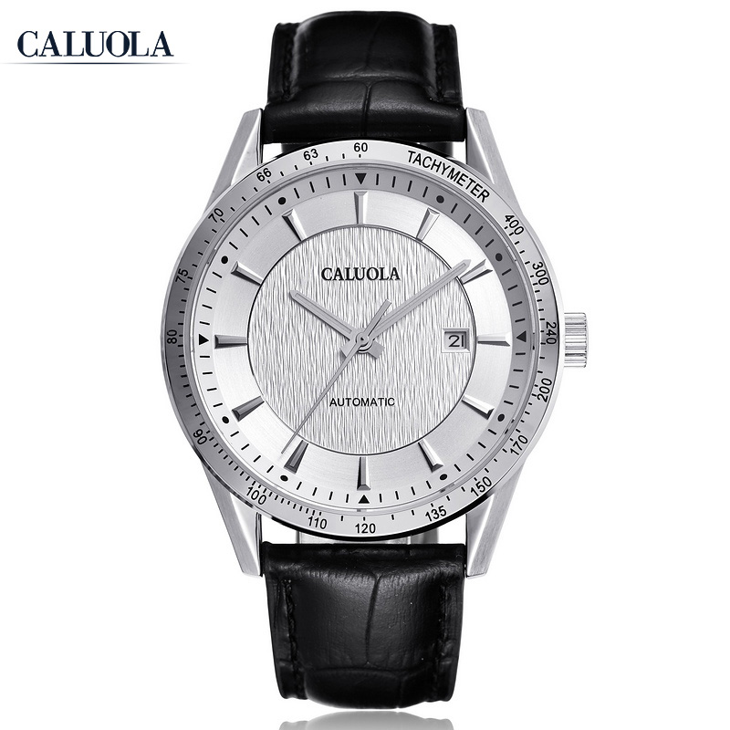 Caluola Sport Watch Automatic Date Fashion Watch Luminous Men Watch CA1156MM
