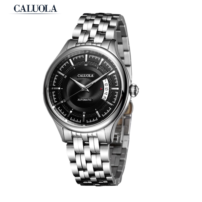 Caluola Automatic Watch With Date Business Men Watch Fashion Sport CA1096MM