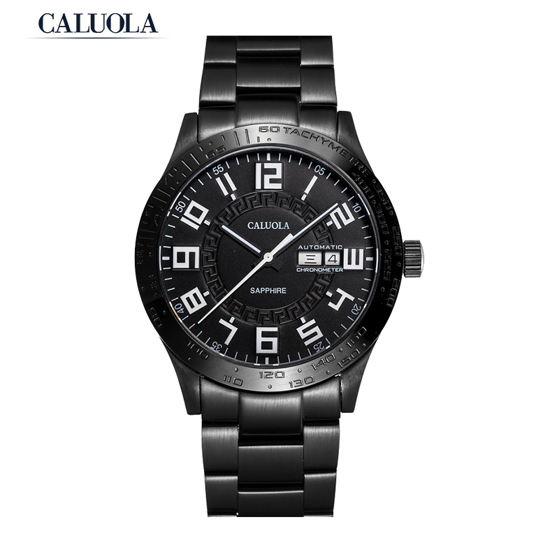 Caluola Automatic Watch Men Watch Day-Date Fashion Watch CA1153MM