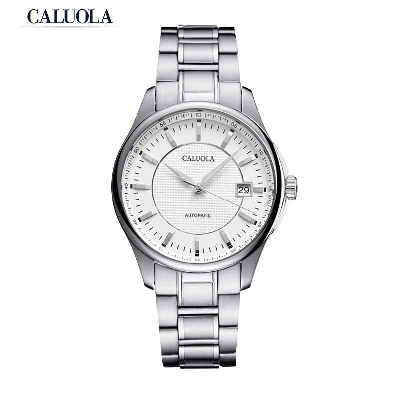 Caluola Business Watch Automatic Date Fashion Men Watch Casual Watch CA1026MM