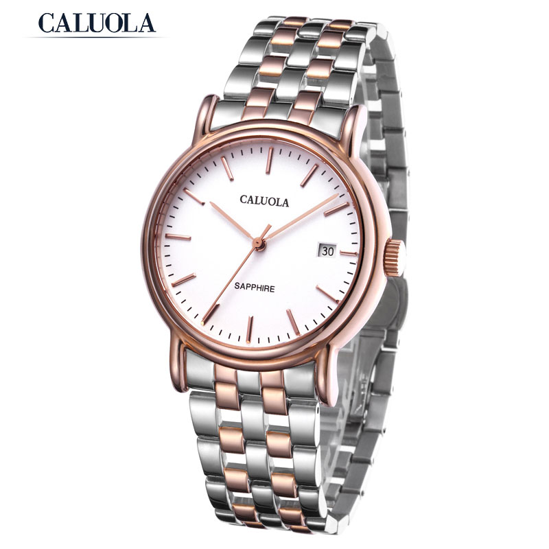 Caluola Men Watch Automatic Watch With Date Casual Watch CA1002ML