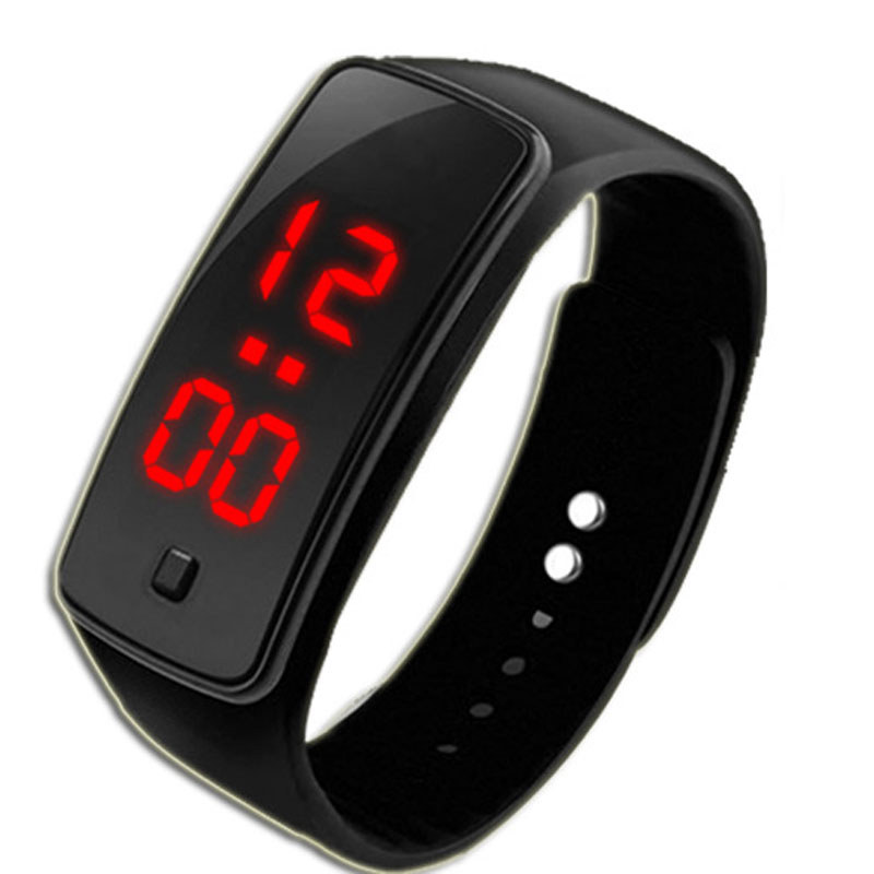 Fashion Led Digital Watch Children Electronic Sport Watch Luminous Date Universe Time
