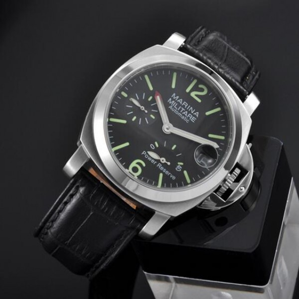 Parnis Marina Militare 40mm Automatic Man Watch Black Dial