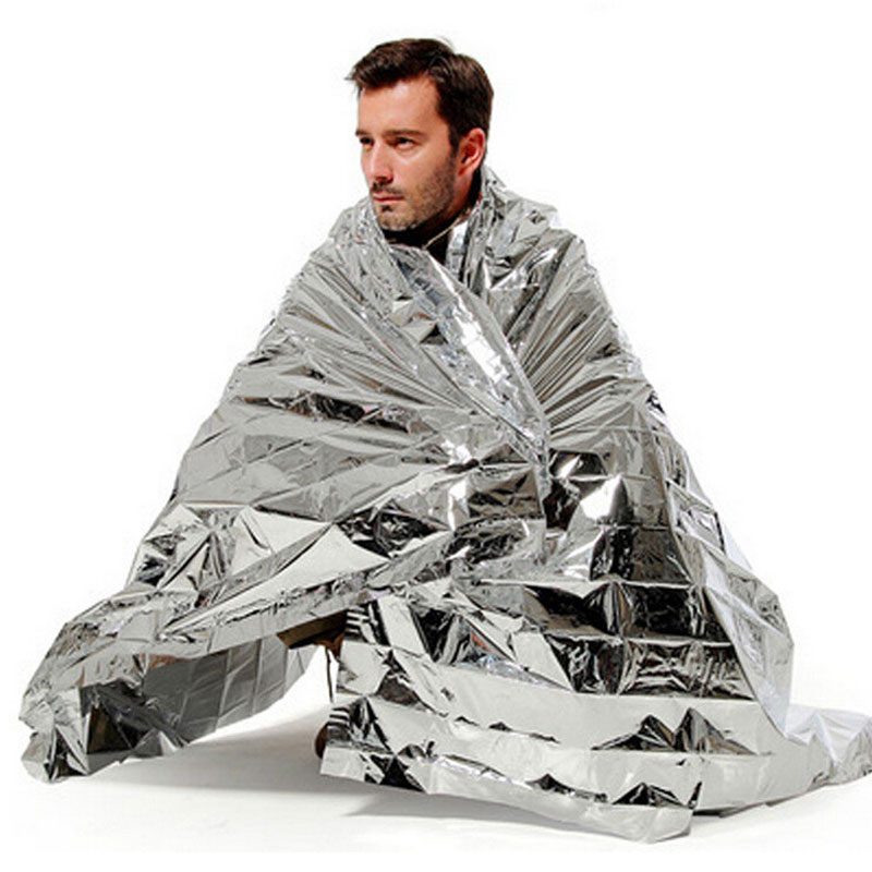 EK Emergency Survival Foil First Aid Thermal Space Rescue Blanket 130cm*210cm