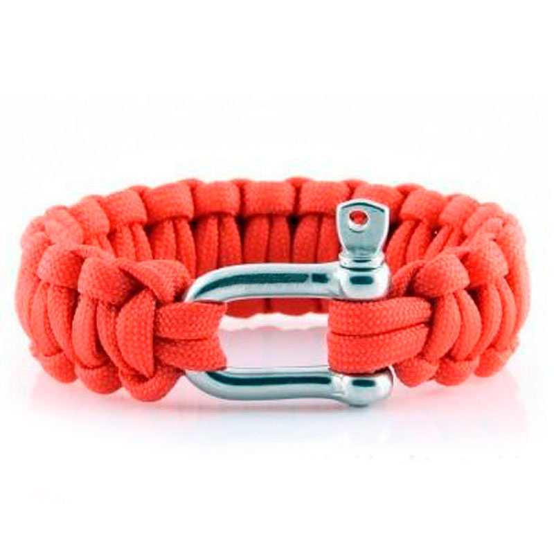 7-Feet Paracord Bracelets Survival Parachute Rope Clasp Camping Outdoor Climbing