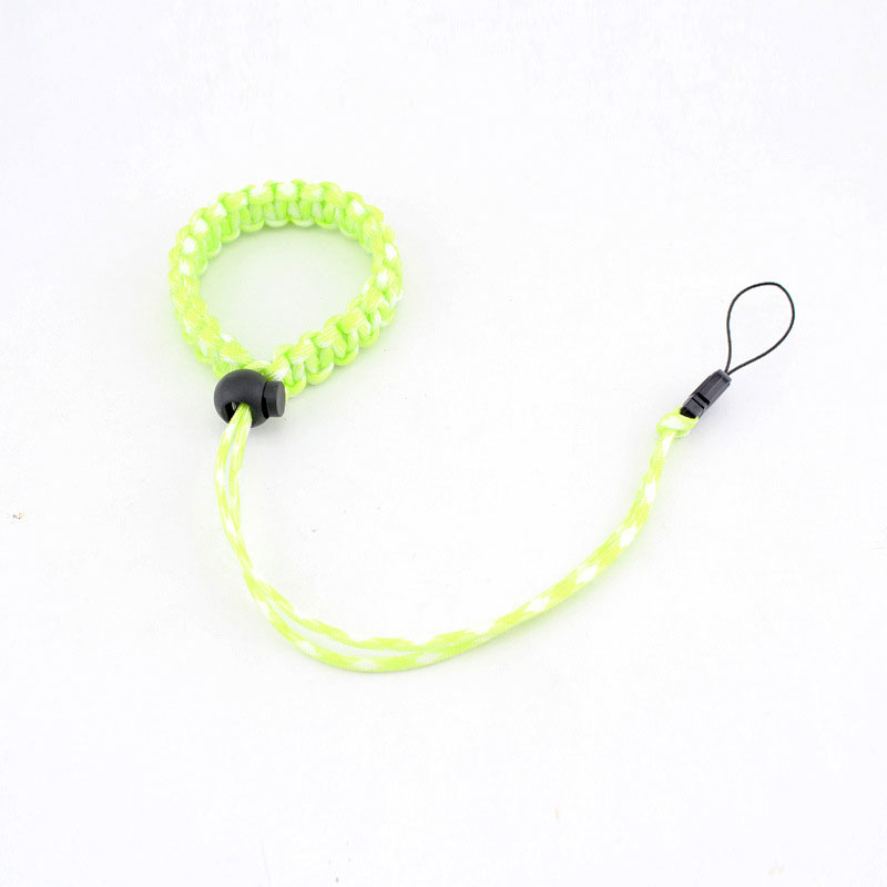Outdoor Camera Hanging Rope Survival Paracord Wristband Creative Camera Bracelet