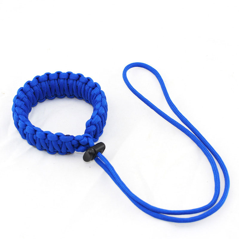 Outdoor Emergency Camera Hanging Rope Survival Paracord Bracelet Creative Camera Cord