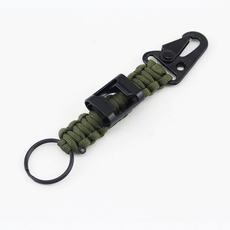 7 Feet Paracord Key Chain Mountain Buckle With Bottle Opener