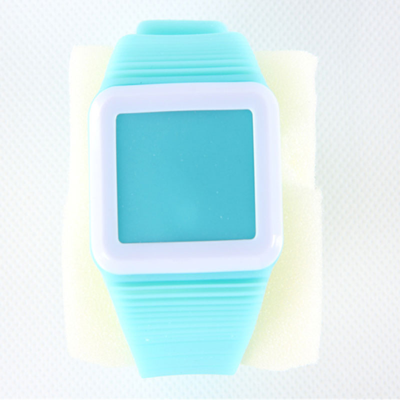 Silicone Watch Children Watch With Touch Screen LED Electronic Watch