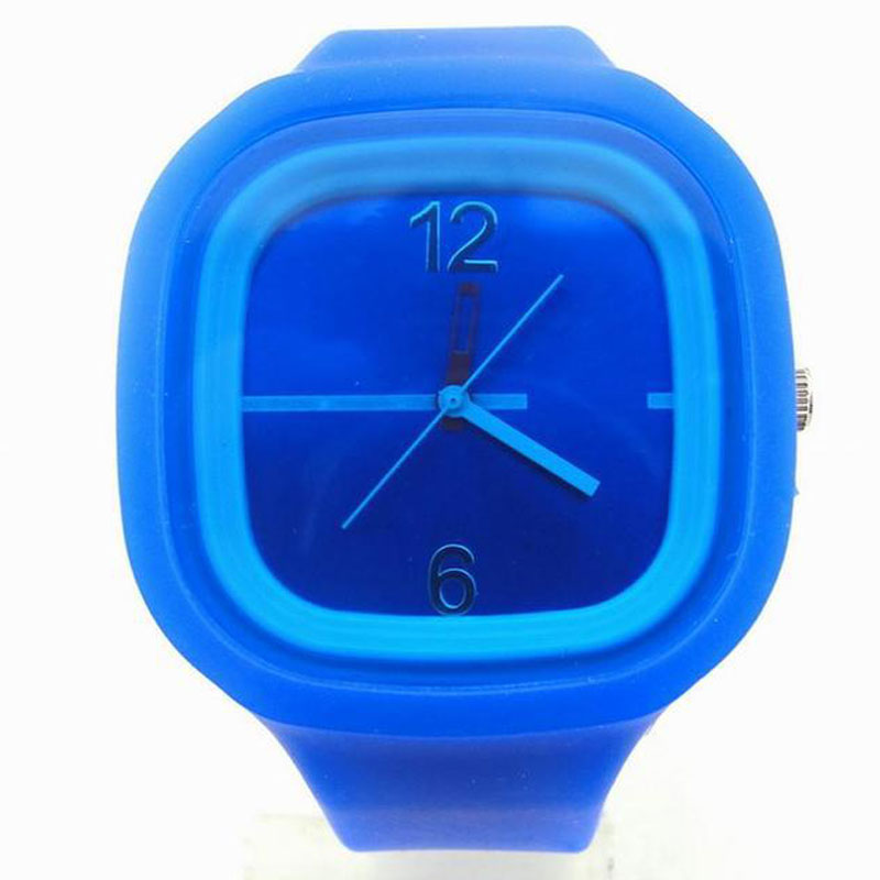 Quality Silicone Jelly Watch For Children Sport Quartz Watch