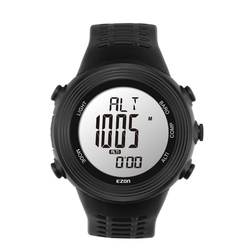EZON Outdoor Sport Watch With Thermometer Altimeter Barometer Compass Digital Watch H017