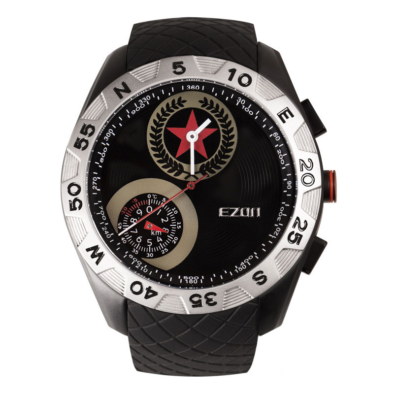 EZON Analog Hiking Watch With Compass Altimeter Thermometer Digital Watch H607A11