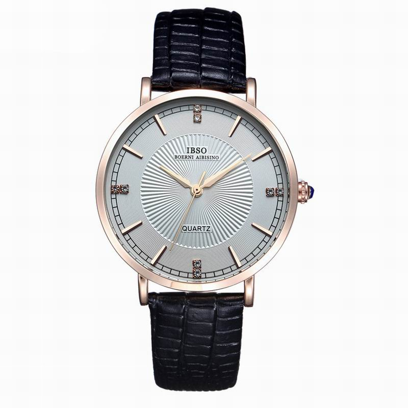IBSO Fashion Watch With Quartz Stick Markers Women Watch 3820