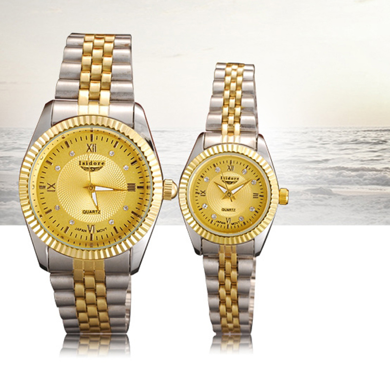 Fashion Watch with White Dial Watch Couple Quartz Watch 69751