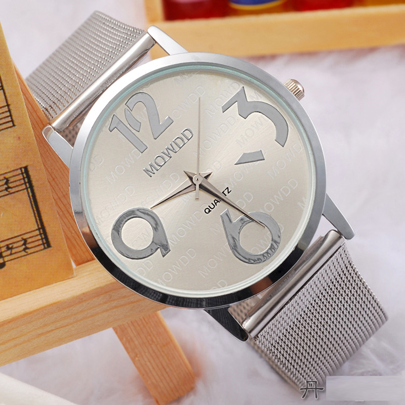 Full Alloy Fashion Watch with Silver Dial Watch Quartz Watch 68014