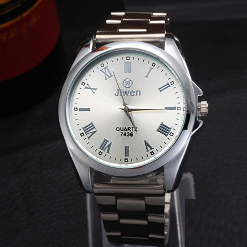Fashion Watch with Silver Dial Watch Quartz Watch 68590