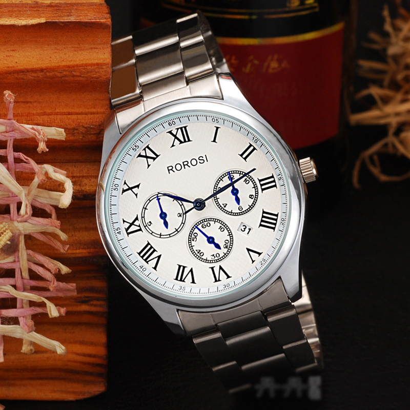 Fashion Watch with White Dial Quartz Watch 69831