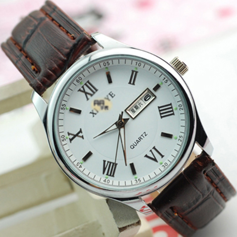 Fashion Watch With White Dial Watch Men Quartz Watch 66034