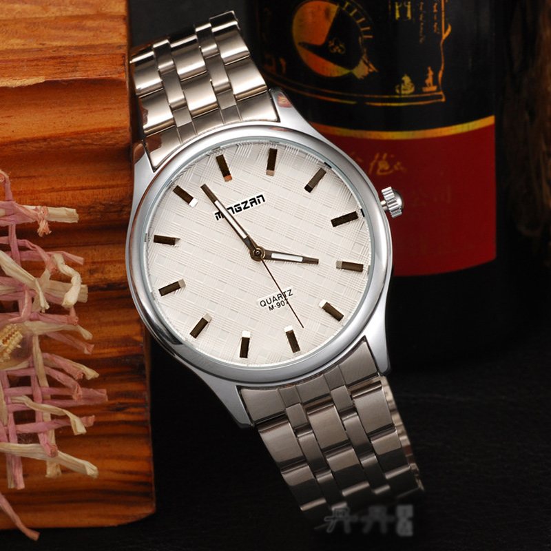 Fashion Watch with White Dial Watch Quartz​ Watch 69888