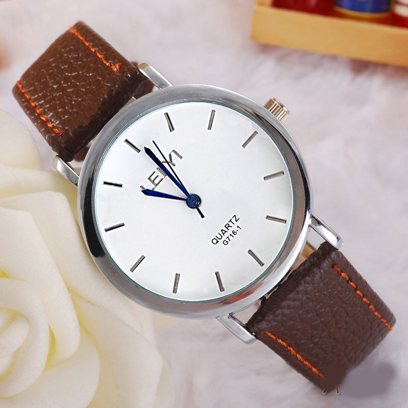Fashion Simple Watch With Quartz Leather Strap Men Watch 69238