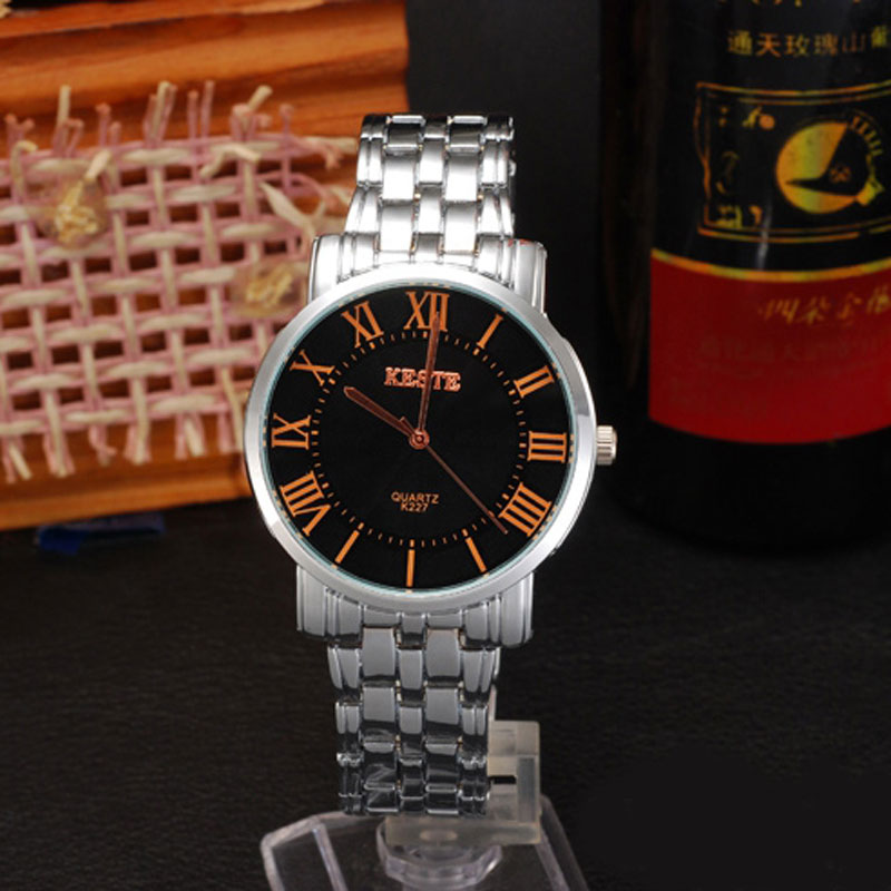 Business Watch With Roman Numbers Quartz Men Watch 69809