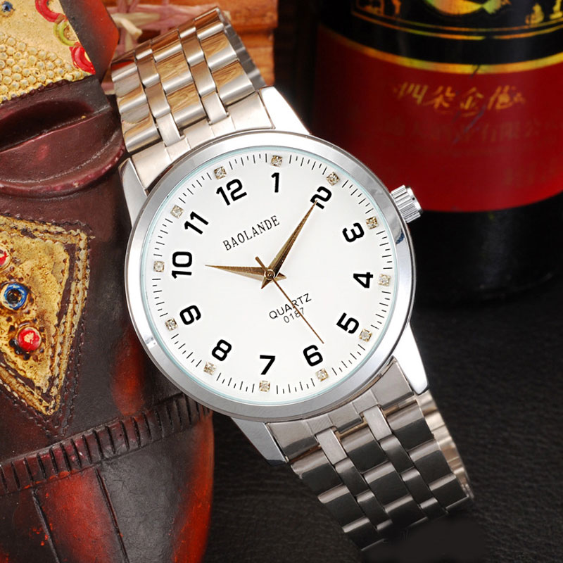 Fashion Business Watch With Number Measure Markers Quartz Men Watch 69507