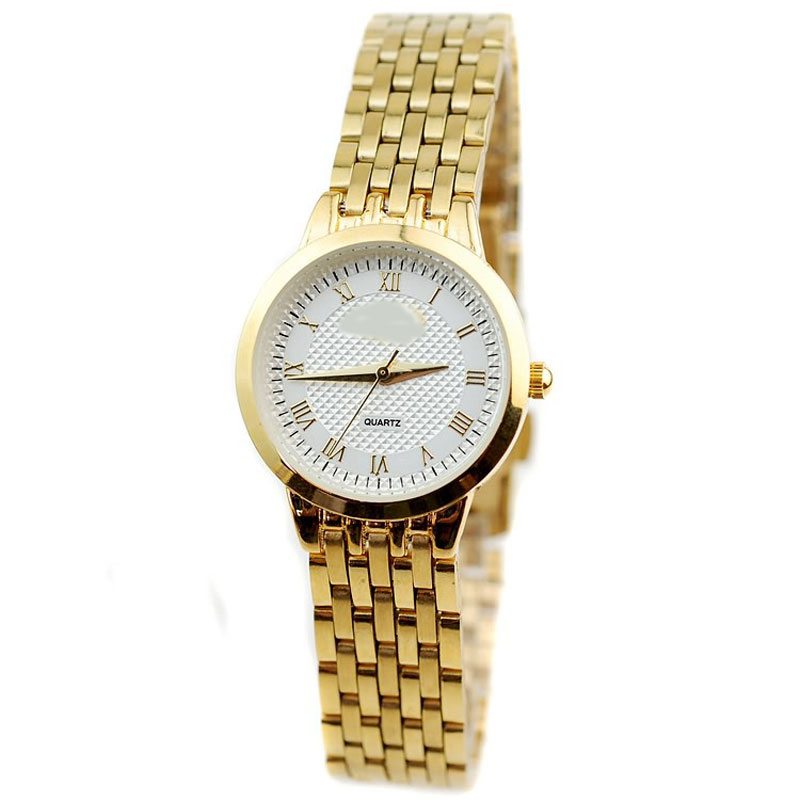 Business Watch With Roman Numbers Quartz Steel Women Watch 64680