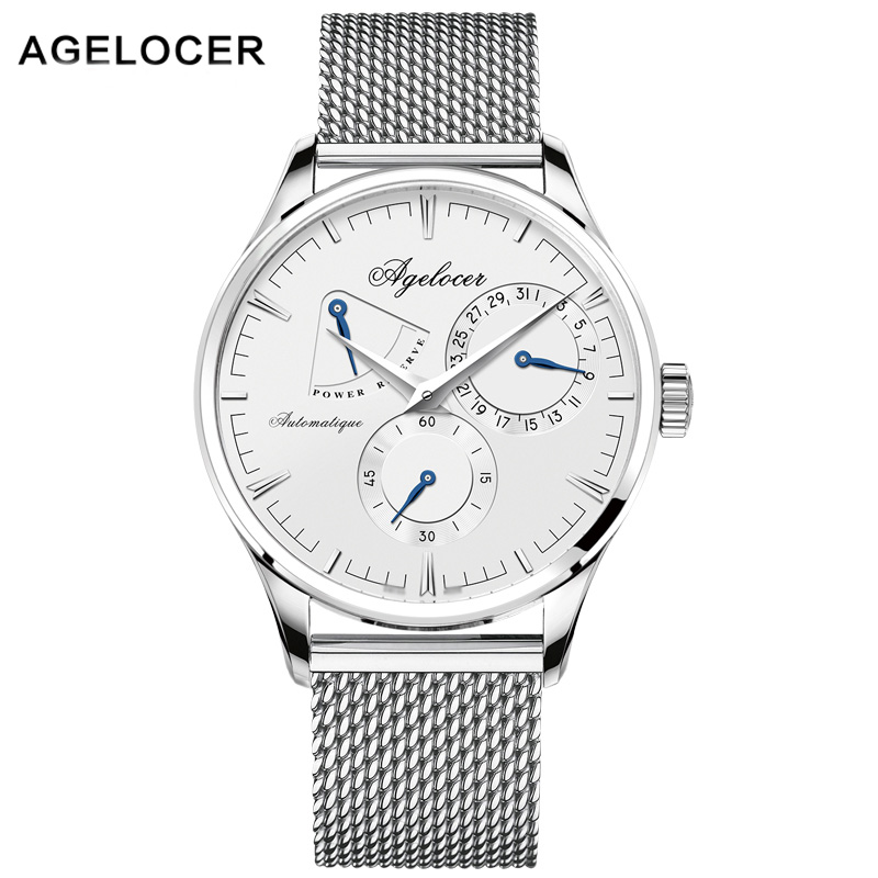 AGELOCER Men Mechanical Watch Luxury Men Business Special  Watch