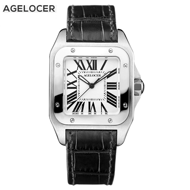 AGELOCER Watches Women Fashion Quartz Movement Waterproof  Watch