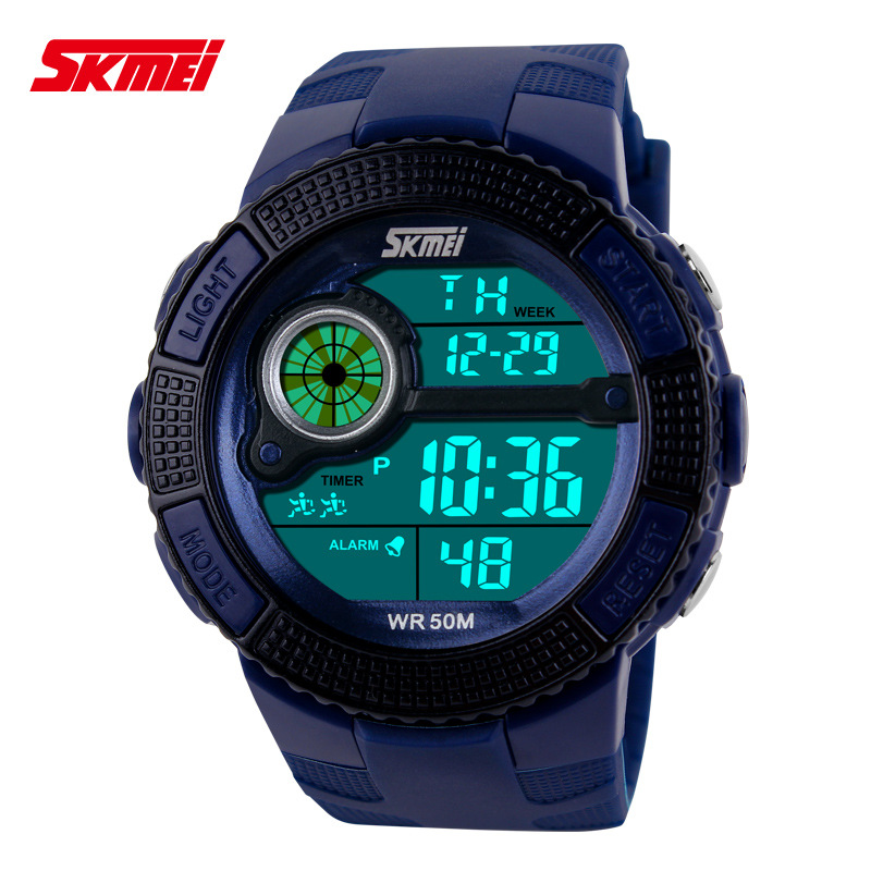 SKMEI Men Watch multifunctional Led Digital Sports Wristwatch Waterproof Automatic Watch
