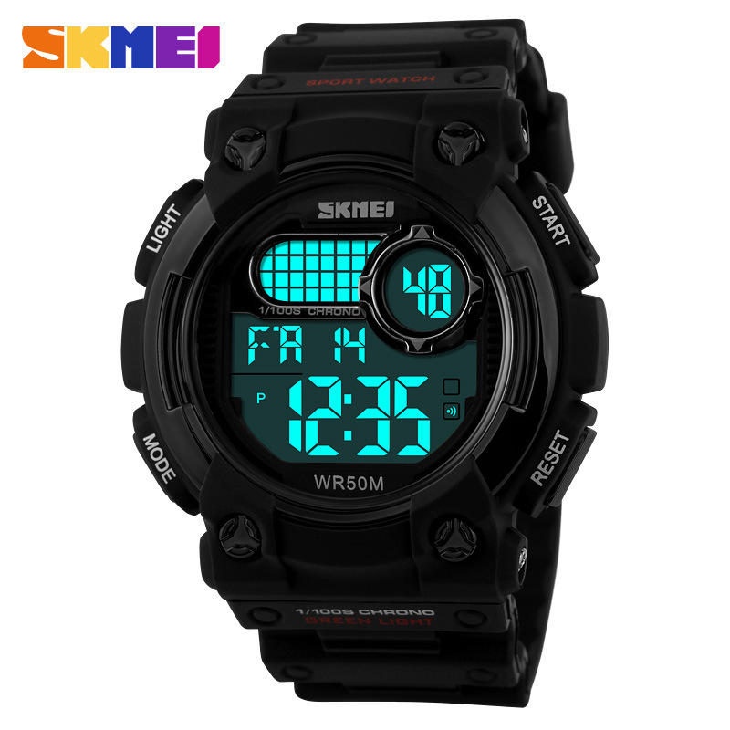 SKMEI Brand Fashion Multifunction Luminous Waterproof Men Outdoor Sports Watches