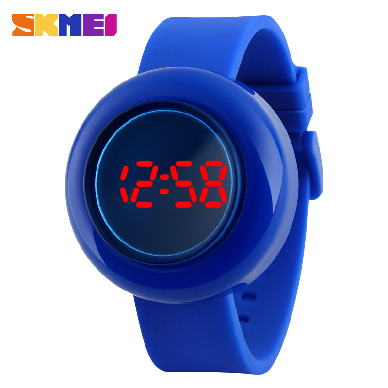 SKMEI Fashion Casual Jelly LED Digital Electronic Wristwatches For Women