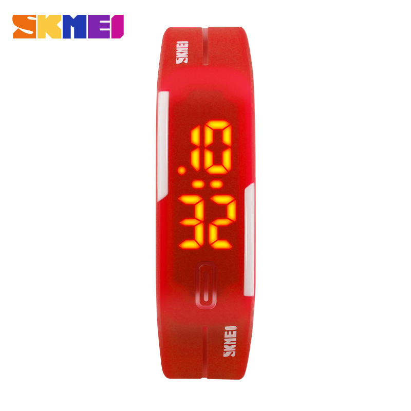 SKMEI Korean Style Waterproof Electronic LED Digital Children Wristwatches
