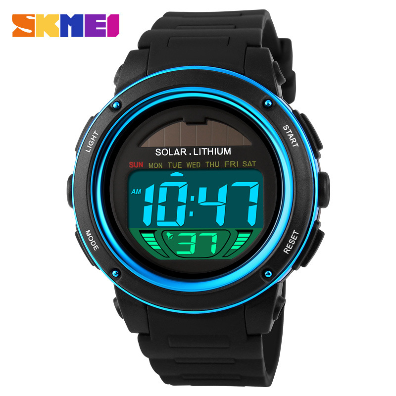 SKMEI Waterproof Electronic Digital Multifunction Round Men Watches