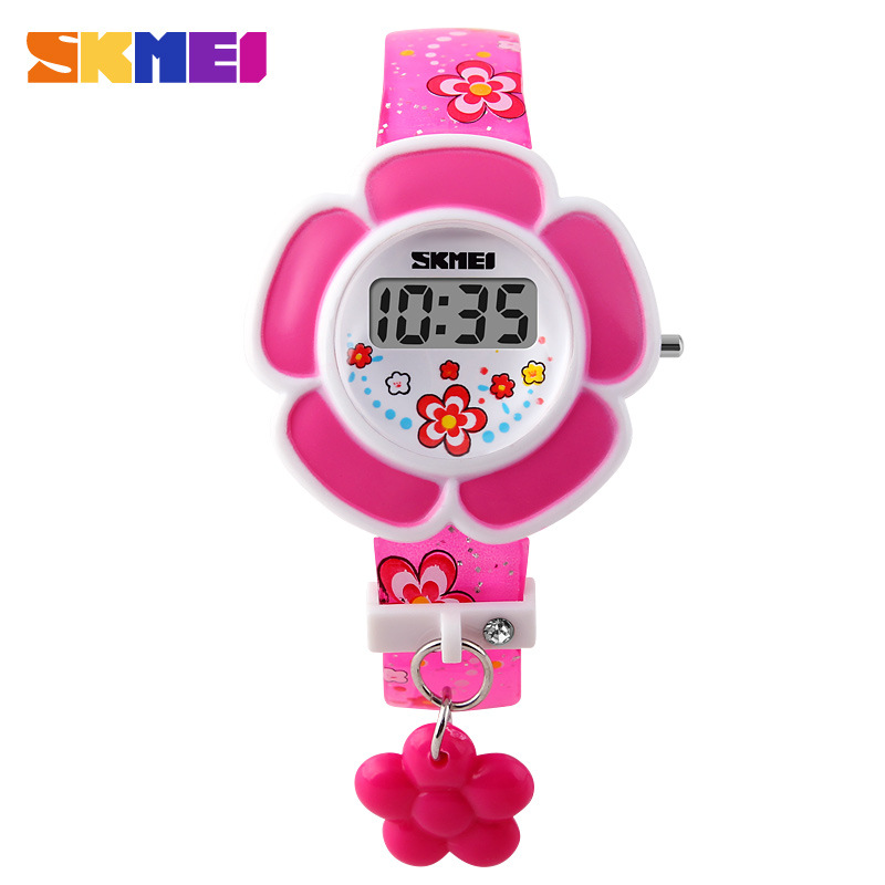 SKMEI Cute Creative Electronic Jelly Fashion Kids Wristwatches