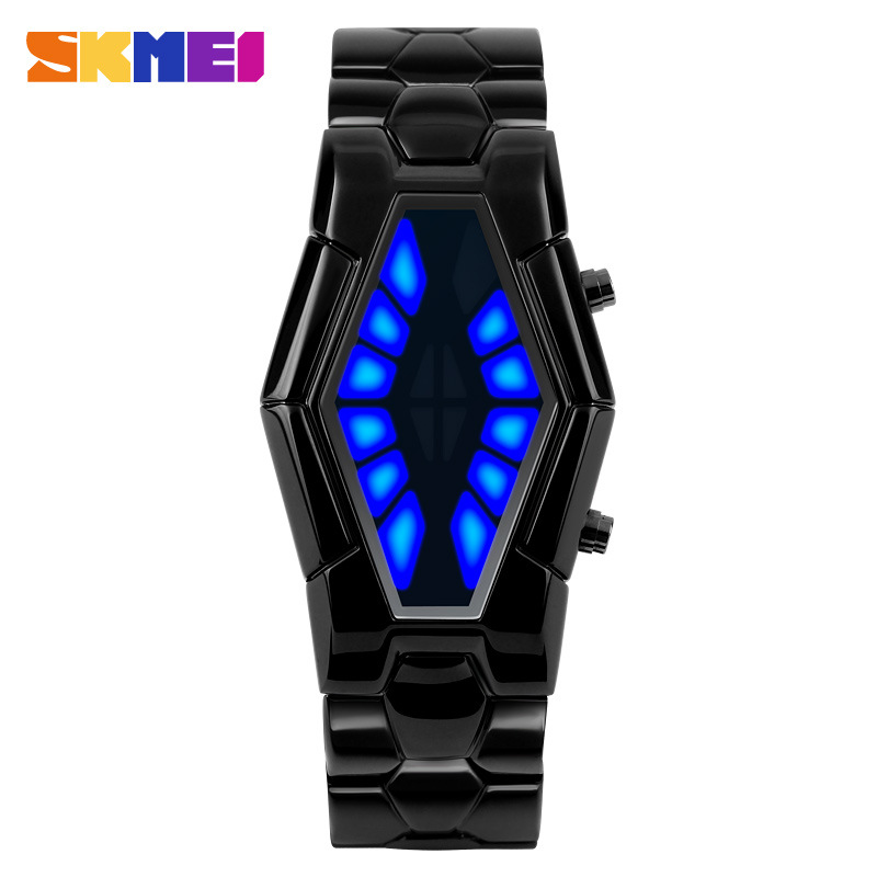 SKMEI Waterproof Korean Style Creative LED Electronic Men Watches