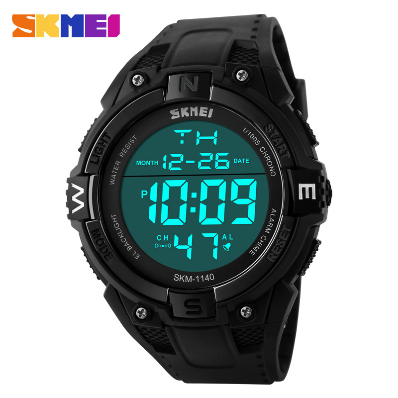 SKMEI Fashion Personality Creative Big Dial Waterproof Men Wristwatches