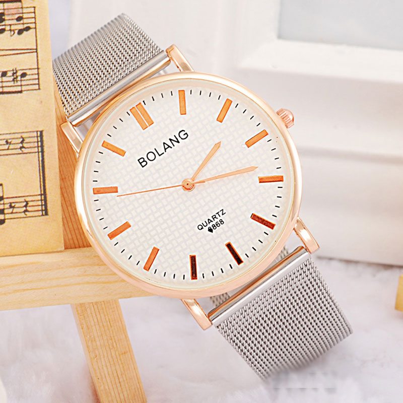 White Dial Roman Numeral/Stick Markers High Quality Men Watches