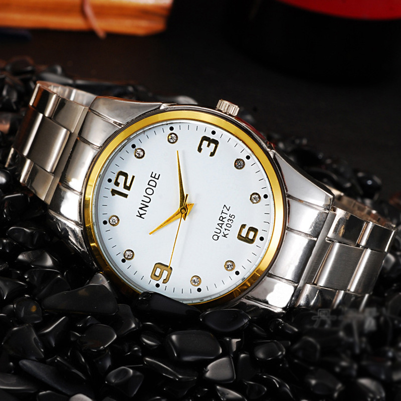 Fashion Business Men Watch With Black/White Dial Quartz Watch 69783