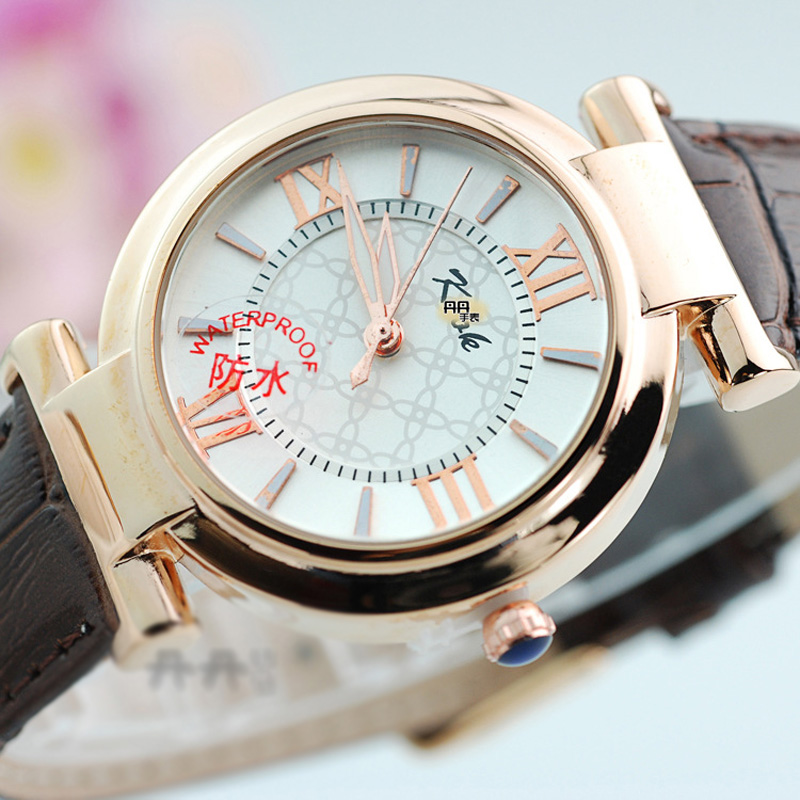 Fashion Women Watch With White Dial Rose Gold Watch 67029