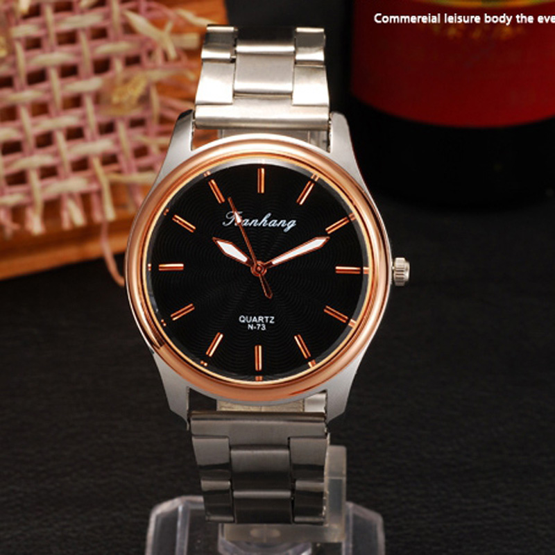 Fashion Steel Case Quartz Watch Men Watch