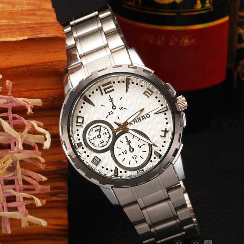 Business Steel Case Quartz Men Watch 69844