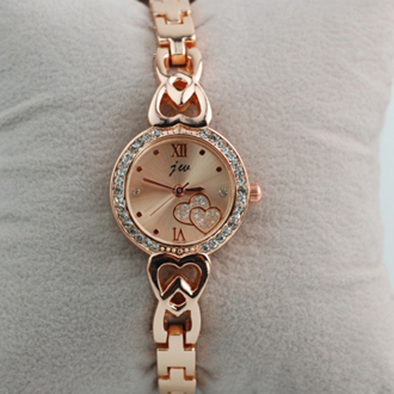 Fashion Diamonds/Dot Numeral Quartz Women Bracelet Watch 67064